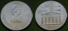 MONETA COIN MONNAIE CANADA 10 DOLLARS 1974 XXI OLYMPIADE MONTREAL 1976 ARGENTO