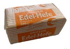 UNIFERM | Frische Hefe Backhefe Frischhefe Würfel Hefewürfel | 500 GRAMM