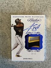 New ListingJosh Bell 2020 Panini Flawless 3 Color Jersey Patch Autograph Auto Card /15