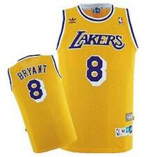 KOBE CAMISETA DE LA NBA DE LOS LAKERS AMARILLA RETRO.TALLA L,XL.