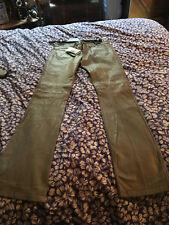 Magnifique pantalon en cuir Naf naf -  Neuf - taille 38