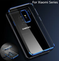 For Samsung S9 /S9 plus A8 2018 Soft TPU Shockproof Clear Ultra Thin Case Cover