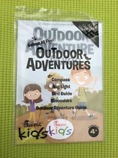 Chick-fil-A Kids Meal Toy BOOK OUTDOOR ADVENTURE GUIDE BOOK NEW SEALED SIP