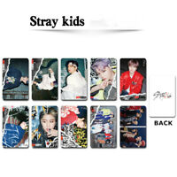2020 Kpop Stray Kids GO LIVE Photocard New Album Matte Photograph Cards 10pcs