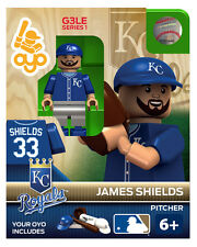 James Shields MLB Kansas City Royals Oyo Mini Figure NEW G3