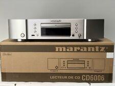 Marantz CD6006 cd spieler silber hifi high end usb hdmi dolby iphone reproductor