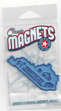 KENTUCKY KY    TRAVEL MAGNET     STATE OUTLINE MAP   in SOUVENIR Bag, NEW