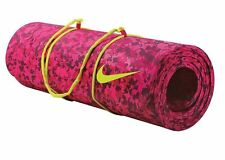"Nike Pink Training Mat for Yoga or Pilates 72"" X 24"" Non Slip Thick"