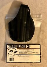 NEW STRONG BLACK LEATHER H304 509 HOLSTER - RH SIG SAUER P-229 AUTOMATIC HANDGUN