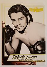 Roberto Duran 2017 4LUVofBOXING Boxing Card Limited Print Hands of Stone