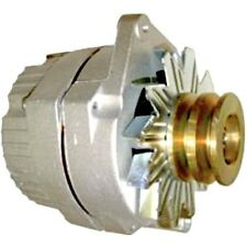 NEW DELCO TRACTOR 24 VOLT REPLACEMENT ALTERNATOR 1-WIRE WITH WIDE DOUBLE PULLEY