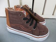 047757c021bc62 NWT VANS BOYS TODDLER SK8-HI ZIP(MTE) SNEAKERS SHOES.SIZE