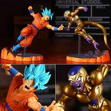 Anime DragonBall Figure Toy Dragon Ball Z Goku Frieza Figurine Statues 2pcs 14cm