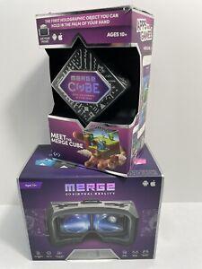 Merge Virtual Reality VR/AR Goggles & Merge Cube AR/VR Holograms