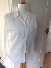 Beautiful Crisp White Linen Shirt