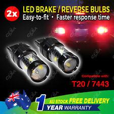 2 PCS LED T20 7443 12V 60W Car Brake Reverse Turn Signal Bulb Light Tail Globe
