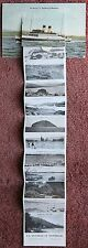 1936 On Board T.S Duchess of Montrose Steamboat Postcard Scotland Rothesay Bute