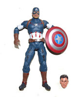 "Marvel Age of Ultron Avengers Captain America 8.5"" Loose Action Figure"