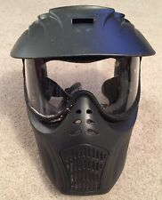 Empire Paintball X-ray Goggles Mask, Black