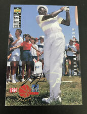 Michael Jordan 1994 Collectors Choice #204 Factory Autographed Silver Signature
