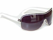 Sonnenbrille Aviator Brille Weiß Silber Pornobrille Fliegerbrille Piloten M 7