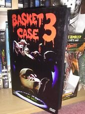Basket Case 3 Dvd Hardbox Uncut Rare 84 Entertainment comedy Gore