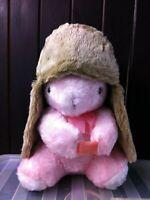 New Pia Rossini Ladies Katka Trapper Hat Faux Sheepskin / Suede & Fur Camel Tan