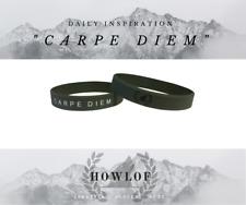 """Daily Inspiration!!! """"CARPE DIEM"""" - Premium Silicone Wristband"""