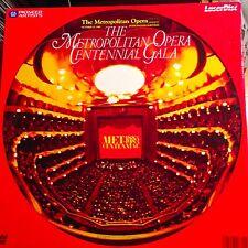 Metropolitan Opera Centennial Gala Boxset -  Laserdisc Buy 6 For Free Shipping
