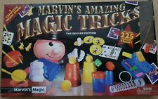 MARVIN'S AMAZING MAGIC TRICKS DELUXE EDITION 225 TRICK SET
