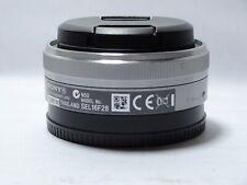 SONY 16mm F2.8 E LENS FOR NEX3 NEX5 NEX5R NEX7 NEX6000 NEX6 NEX  a7R III
