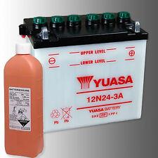 YUASA 12N24-3A Motorradbatterie 12V 24Ah inkl. Säurepack