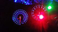 BLUE KAWASAKI ZX12R led dash clock conversion kit lightenUPgrade