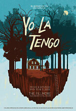 Yo La Tengo | Art by Jessica Deahl - Original 2013 Concert Poster