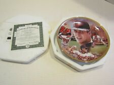 BRADFORD EXCHANGE BASEBALL RECORD BREAKERS PLATE JASON WALKER CAL RIPKEN JR