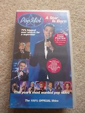 Pop Idol A Star Is Born - VHS Video Tape Poster - Will Young Gareth Gates