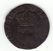 1725 Q French Colonial Perpignan Copper Sol