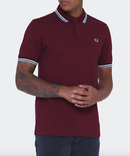 Fred Perry Mens Port Twin Tipped Polo Shirt