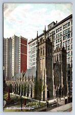 Vintage Postcard Pittsburg PA Presbyterian Church 1909 b5
