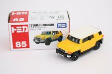 Takara Tomy Tomica #85 Toyota FJ Cruiser Yellow Scale 1/66 Small Diecast Toy Car