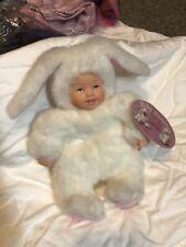 """Anne geddes Baby Bunnies Doll- 6"""""""