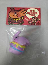 Unbox Greenie & Elfie Elephant Burger Vinyl Figure Toysoul Purple