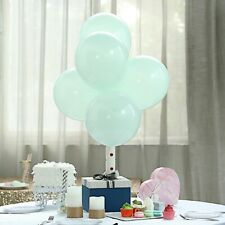 """25 Mint Green Matte 12"""" Round Latex Balloons Party Wedding Decorations Supplies"""