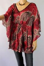 Evening, Occasion Animal Print Unbranded Machine Washable Tops & Blouses for Women