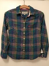 Jack Wills Multi Coloured Check Shirt Size 8