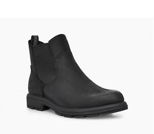 SALE Men's Ugg Boots  Biltmore Chelsea Waterproof Leather Boot Black UK 9