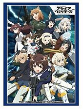 Strike Witches Brave Card Game Character Sleeves Collection HG Vol.1168 Anime
