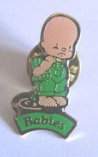 BABIES pin's  pins VERT CARTABLE SAC A DOS ECOLIER