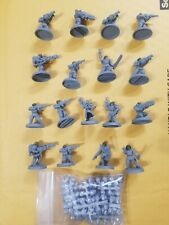 Warhammer 40k Astra militarum Cadian Chaos Cultist Lot X17 W/extras Pig Iron