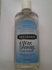 weiman wax away candle wax remover 8 oz bottle **NEW**